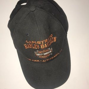 Harley Davidson Motorcycles Hat Logo